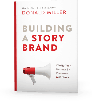building a story brand by donald miller book on amazon for churches