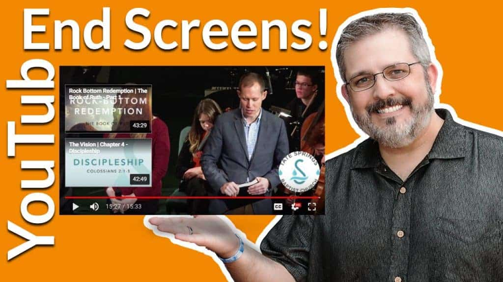 End Screens on YouTube help viewers find more of your videos