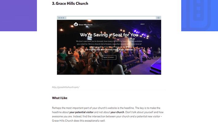 pro church tools best church websites