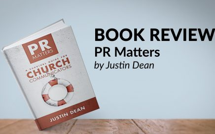 book review of pr matters by justin dean