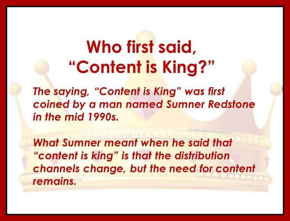 content is king when it comes to church email newsletters