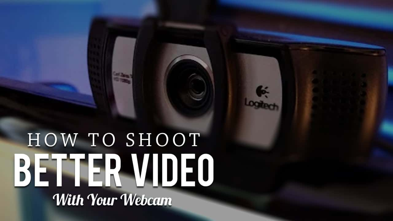 How to shoot a video on a webcam using special programs