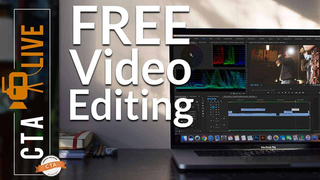 Free Video Editing Software for MAC and PC | Church Training