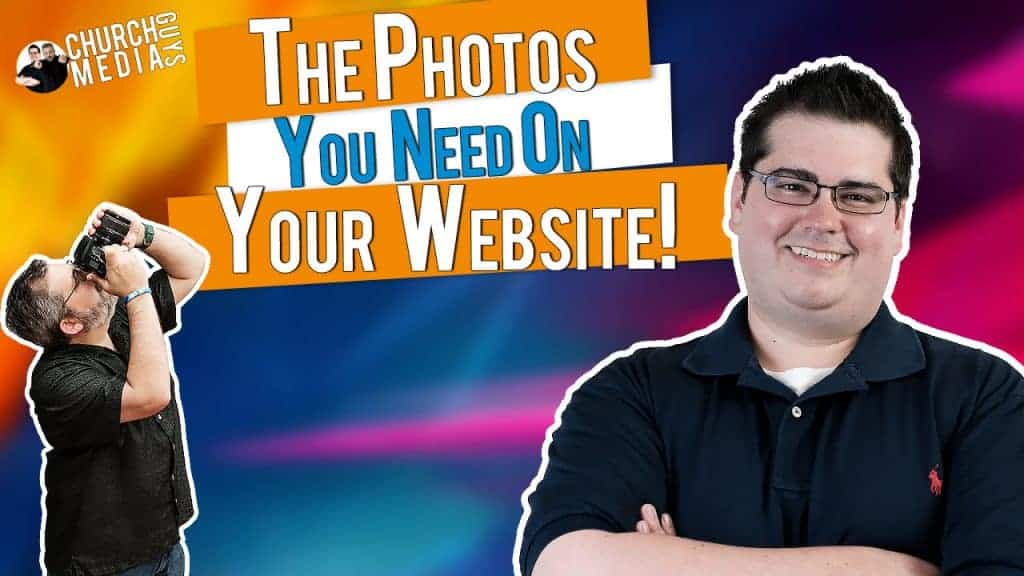 What photos should I have on my church website