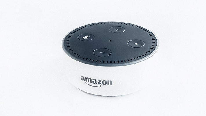 white amazon echo